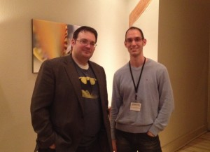 Brandon Sanderson and Me (Cropped)